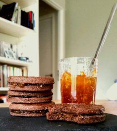 Une envie de Bichoco maison, version tout chocolat ou choco-orange (#Le goûter du mercredi)