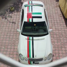 Vehicles decorated for UAE 43rd National Day PHOTO: juned.j91