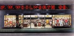 Pleasant Family Shopping: Woolworth's