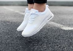 nike air max thea in white shoes cheap sale