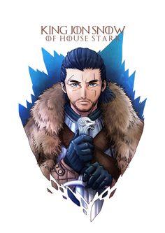 Jon Snow by CJyamaue