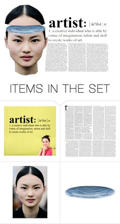 """""""artist"""" by bymila ❤ liked on Polyvore featuring art"""