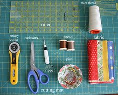 Step by step instructions and tips on quilting. This will be invaluable... someday.