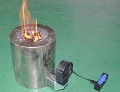 江西纳米克热电电子股份有限公司--Thermoelectric Generator System for Wood and Bio-fuel Stove, by converting the small amount heat of stove to generate electricity for combustion chamber blower and charging battery.