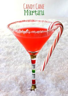Candy Cane Martini by Mantitlement