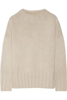 The Row Meme oversized merino wool and cashmere-blend sweater | NET-A-PORTER