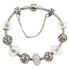 Chicnova Fashion Alloy Diamante Bracelet ( 3.80) ❤ liked on Polyvore  featuring jewelry 0df7e0418d796