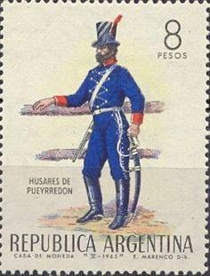 Stamp: Uniforms (Argentina) Mi:AR 865,Yt:AR 704,Göt:AR 1325