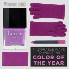 7 Adorable Ways to Wear Radiant Orchid: http://www.womenshealthmag.com/sex-and-relationships/places-to-have-sex