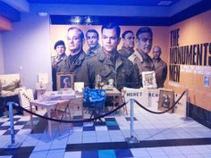 Come see The Monuments Men at the Charlestowne 18 Theatre on Friday, February 7 from 6:00-8:30 p.m. or Saturday, February 8 from 2:00-5:00 p.m. and check out some WWII Re-enactors.  There will be a display in the lobby along with the re-enactors.  Bring your camera and take pictures with the re-enactors.