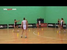 Netball Team Passing Drill- In the Square (+playlist) Netball Coach, Passing Drills, Fun Workouts, Coaching, Basketball Court, Training, Motivation, Health, Fitness