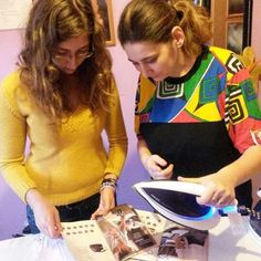 Am prezentat stația de călcat #PhilipsPerfectCare (primită spre testare cu ajutorul BUZZStore și Acasă cu Philips) surorii mele, Iulia, proaspătă studentă medicinistă; halatele ei trebuie să arate impecabil!