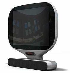 Televisión Humax, de diseño retro,