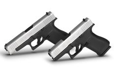 Built with the gunmaker's simple dependability, the Glock and Glock 48 offer shooters slim and effective concealed carry choices in Glock Guns, Weapons Guns, Shooting Equipment, Weapon Of Mass Destruction, Concealed Carry, Concealed Handgun, Military Guns, Firearms, Hand Guns