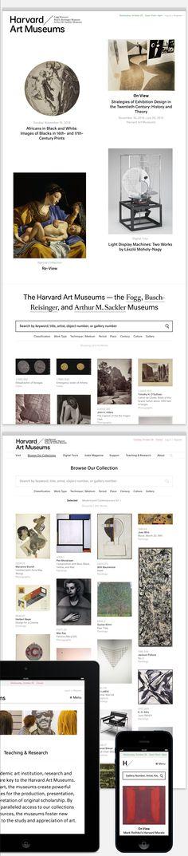 Harvard Art Museums Website by Area 17.
