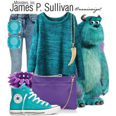 """James P. Sullivan"" by anniereigel on Polyvore"