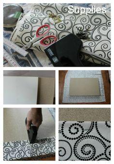Whimsical Poppysmic: DIY Pinboard