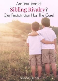 Sibling rivalry solutions:Are you tired of sibling rivalry, the constant fighting and bickering? Our pediatrician gave us the best solution - and it works! It's a total parenting win! Positive parenting, empowering kids, stop the sibling fights and arguments.