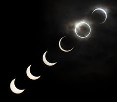 Solar Eclipse Photos 2012. Tokyo, Japan