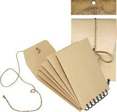 Spiral bound envelopes! Genius!