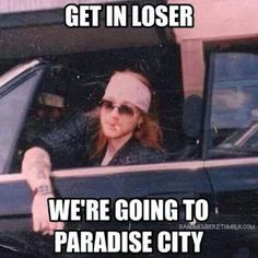 Sure, sounds like fun Axl, is Slash coming too? I'll bring some doritos. Free 80s streaming music - www.radionomy.com/80sthrowbackparty