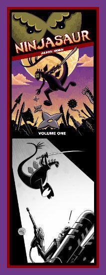 "Kids Will Love Jason Horn's Mutant Dino ""Ninjasaur"" #books #Ninjasaur #JasonHorn #dinosaurs #ninjas #kids"