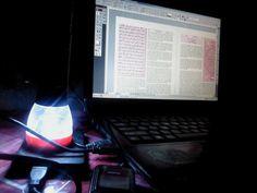 a light in the night    #power shutdown