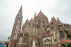 The Votive Church of Our Lady of Hungary  is a twin-spired church in Szeged, it lies on Dóm square. Construction began in 1913, but due to the outbreak of the First World War, it was not completed until 1930