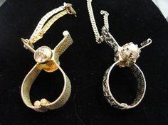 vintage glove clips