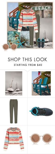 """Oversize sweater"" by belldraw ❤ liked on Polyvore featuring Uniqlo, New Balance, Missoni and House of Holland"
