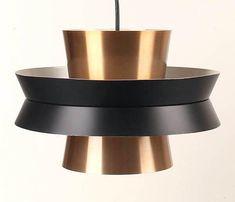 Mid Century Retro Danish Fog Morup Pendant Lamp Light Carl Thore Eames - 20th Century Gallery