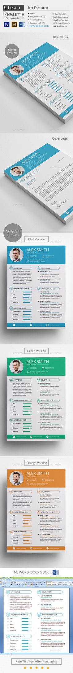 Resume Ai illustrator, Design resume and Font logo - resume paper size