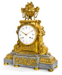 A Louis XVI ormolu mantel clock circa 1786, dial signed <em>Robin Aux Galeries Du</em> <em>Louvre, </em>the<em> </em>movement signed <em>Robin A Paris</em>   Lot   Sotheby's