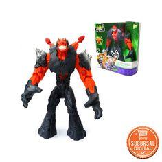 Figura de Acción Max Steel  Modelo Erupciion de magma. US$44