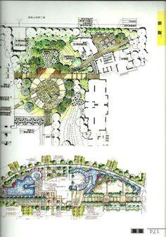 #landscapearchitectureplaza #LandscapeSketch