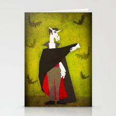 Dracula Unicorn Stationery Cards by That's So Unicorny - $12.00