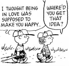 oh charlie brown, oh love