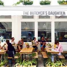 The Butchers Daughter ☀️NY and abbot kinney. juice bar ad cafe