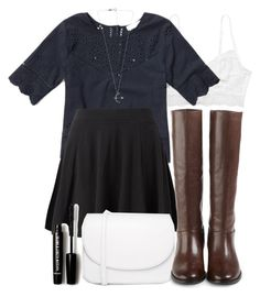 """""""Allison Inspired Outfit with Requested Top"""" by veterization ❤ liked on Polyvore featuring moda, Monki, Abercrombie & Fitch, Vagabond, Cole Haan e Forever 21"""