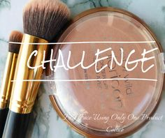 Beauty Project: Challenge Full Face Makeup ~ Collab