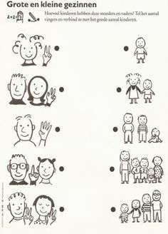 Alles over opa's en oma's :: opa-oma I Love School, Too Cool For School, Pre School, Family Theme, My Family, Preschool Worksheets, Preschool Crafts, Autumn Activities, Activities For Kids