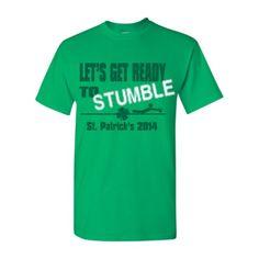 Get Fun St. Patrick's Day Shirts At Shirtmonster. Make This Design Here - http://www.shirtmonster.com/user-art/19683203/Irish_Green/190/190