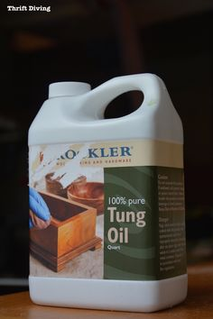 Rockler Tung Oil - ThriftDiving.com Tung Oil, Chair Makeover, Modern Chairs, Thrifting, Mid-century Modern, Mid Century, Pure Products, Diy, Design
