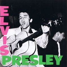 Elvis Presley - Elvis Presley - The Clash's London Calling was inspired by this album cover.