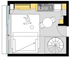 387 sq ft 2 story micro apartment in brazil 009 Would You Live in this 387 Sq. Ft. Two Story Micro Apartment?
