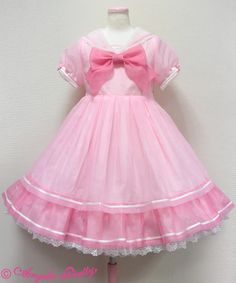 Angelic Pretty Sherbet Marine OP in Pink