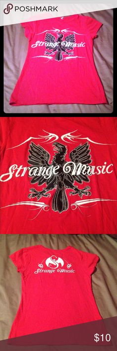 MyLoveYF Tech N9ne Strange Music Logo Youth Cotton Short Sleeve Crew Neck T-Shirt