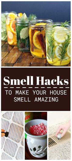10 Ways to Make Your House Smell Good - I heart these 10 smell hacks to remove bad odors and fill the home with good smells. House Smell Good, House Smells, Room Scents, Smoke Smell, Oven Dishes, Cleaning Hacks, Cleaning Products, Tea Light Candles, Home Remedies