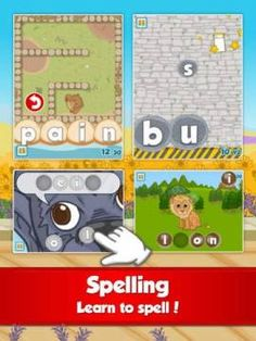 Fun French Course by Studycat: Learn French - Language learning games for kids ages - basic French course for kids. Learning Games For Kids, Ways Of Learning, Learn To Speak French, French Course, Learn To Spell, French Language Learning, Best Apps, Preschool, Fun