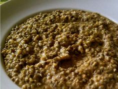Lisa shares her recipe for Pojo made with a Lentil-like bean called Mung Beans. Indian Food Recipes, Real Food Recipes, Vegetarian Recipes, Yummy Food, Healthy Recipes, Ethnic Recipes, African Recipes, Healthy Foods, Yummy Recipes